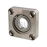 軸承座組件 帶扣環嵌入單軸承型
