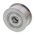平皮帶用惰輪 寬度(T)6~32mm