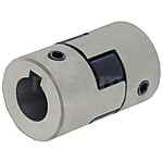 聯軸器 爪形十字形止動螺絲固定·鍵槽型