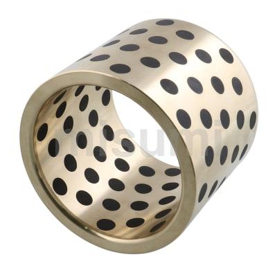 无油衬套 铜合金标准内径F7外径m6型