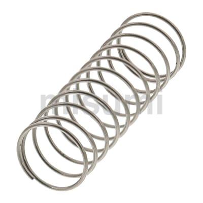 圆线螺旋弹簧 外径基准不锈钢型 超轻载型 弹簧常数0.05~0.98N/mm
