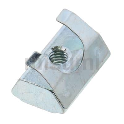 螺帽 HFS6系列铝合金型材用 带板簧后装型