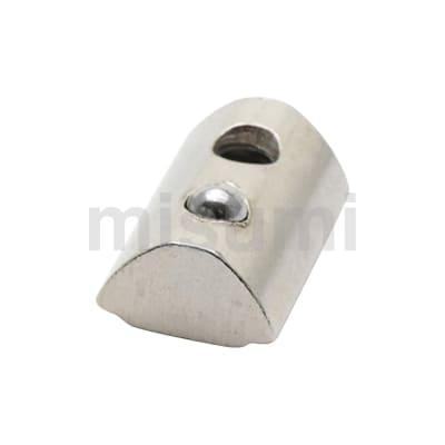 经济型 后装钢珠弹性螺母 欧标槽宽8mm铝型材专用