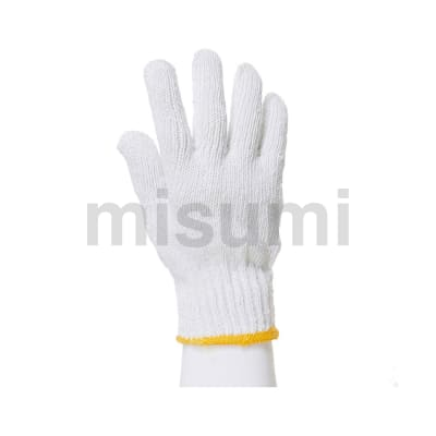 600g纱线手套 符合RoHS10指令要求 7针漂白 12副/袋