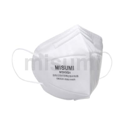 KN95折叠式颗粒物防护口罩(耳挂式)