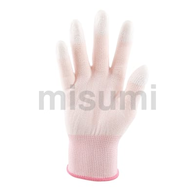 白色PU指尖涂层手套(300双/箱)