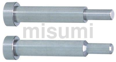 无锥度一阶型芯(无拔模斜度型芯) -轴径(P)0.01mm指定