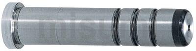 精密级带肩导柱 -带油槽 全长固定型-