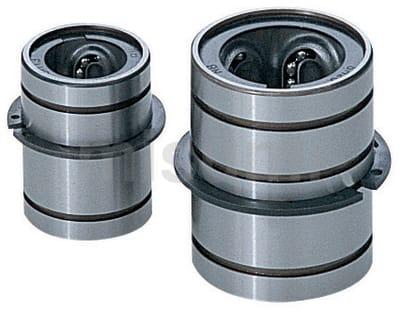 推板导套 -直线滚珠型・钢/钢(全长缩短型)/不锈钢-