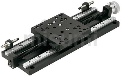 X轴手动滑台 高精度/加长型/直线导轨型
