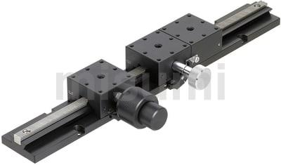 X轴手动滑台 高精度/燕尾槽/齿条齿轮型/加长/滑块组合型