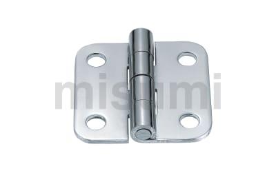 钢制蝶形铰链 不锈钢/钢制/圆孔