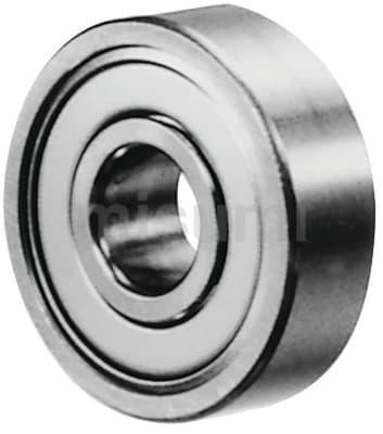 不锈钢小径滚珠轴承 双盖式