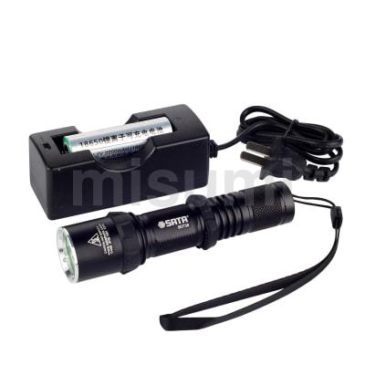 高性能强光充电式手电筒